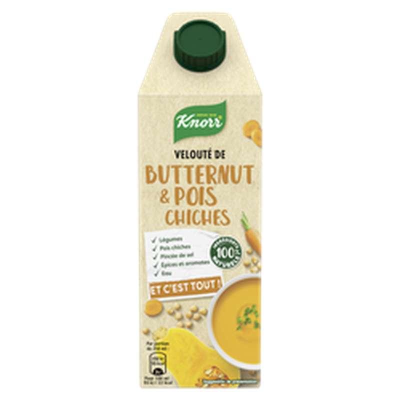 Velouté de butternut et pois chiches, Knorr (750 ml)