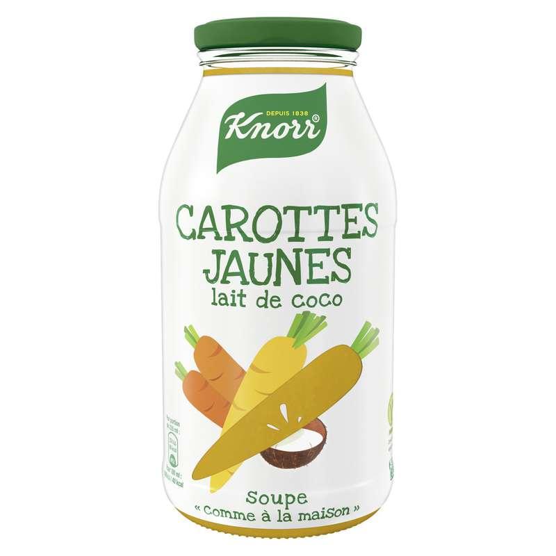 Soupe carotte jaune & lait de coco, Knorr (450 ml)