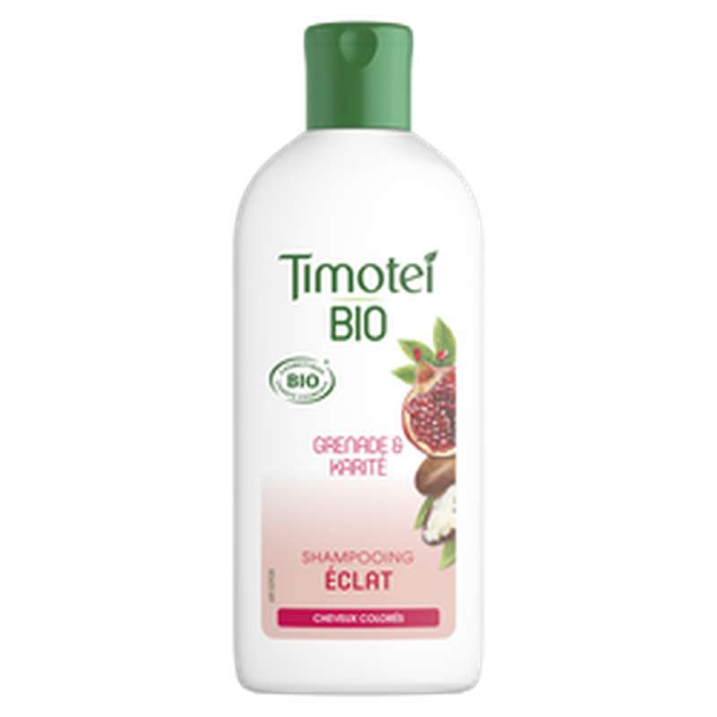 Shampoing éclat grenade & karaté BIO, Timotei (250 ml)