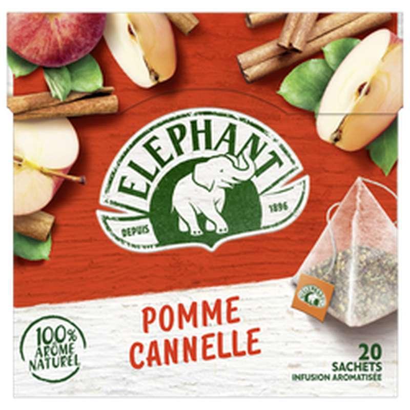 Infusion pomme et cannelle, Elephant (x20)