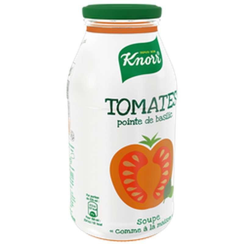 Soupe comme à la maison tomates pointe basilic, Knorr (45 cl)