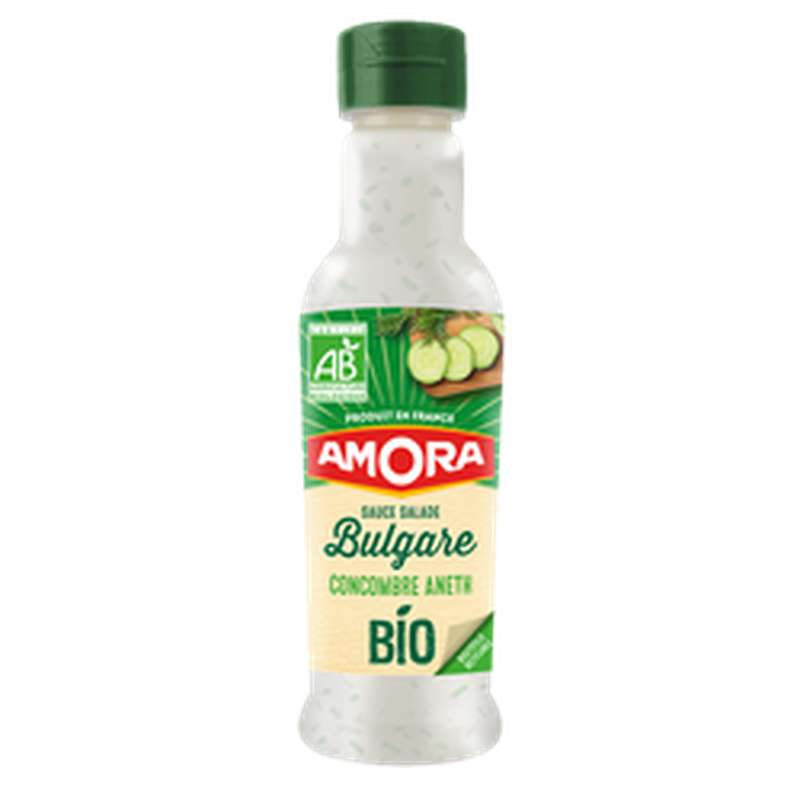 Sauce Crudités à la bulgare concombre et aneth BIO, Amora (200 ml)
