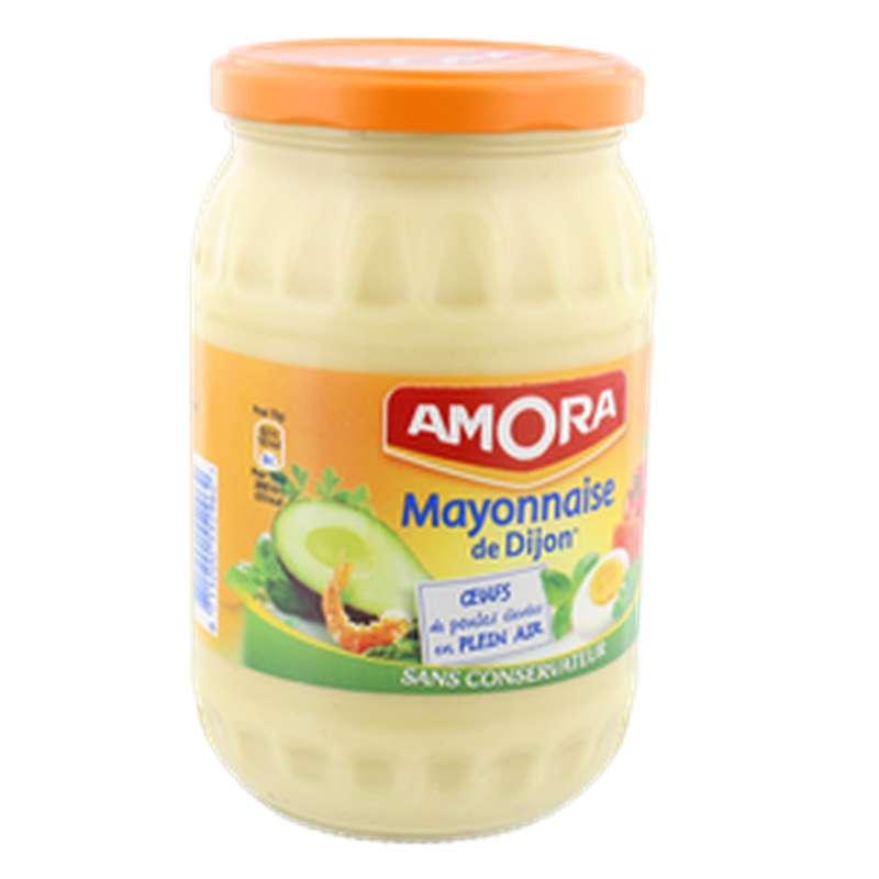Mayonnaise nature sans conservateur, Amora (725 g)