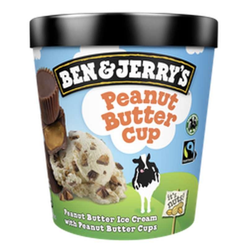 Glace en pot Peanut Butter Cup, Ben&Jerry's (425 g)