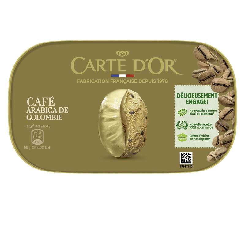 Glace Café, Carte d'or (491 g)
