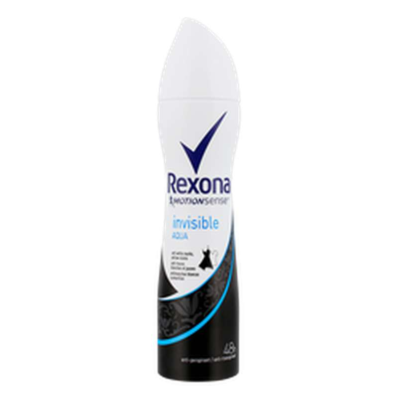 Déodorant Invisible Aqua, Rexona (200 ml)