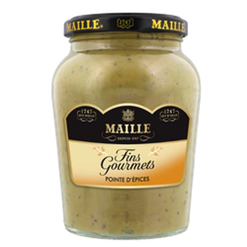 Moutarde fins gourmets et pointe d'épices, Maille (340 g)