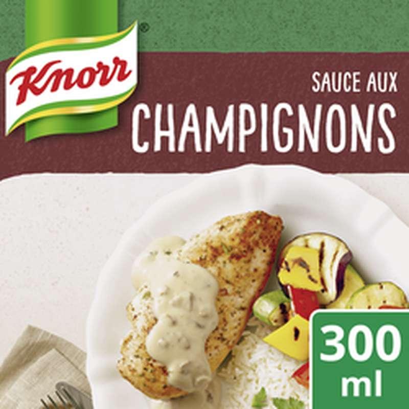 Sauce aux Champignons à la crème fraîche, Knorr (30 cl)
