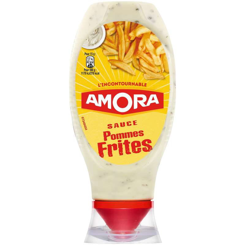 Sauce pommes frites, Amora (448 g)