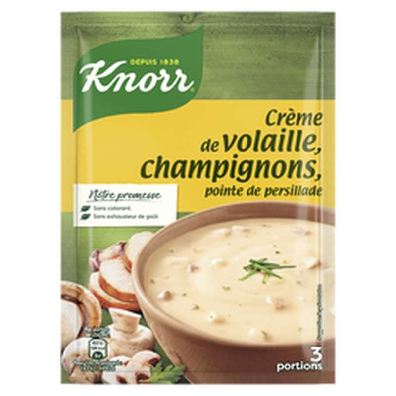 Crème de volaille champignons déshydratée, Knorr (75 cl)