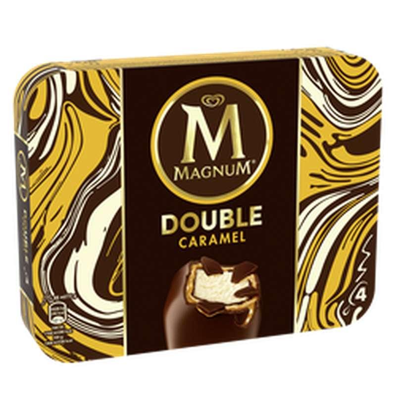 Glace Bâtonnets Double Caramel, Magnum (292 g)