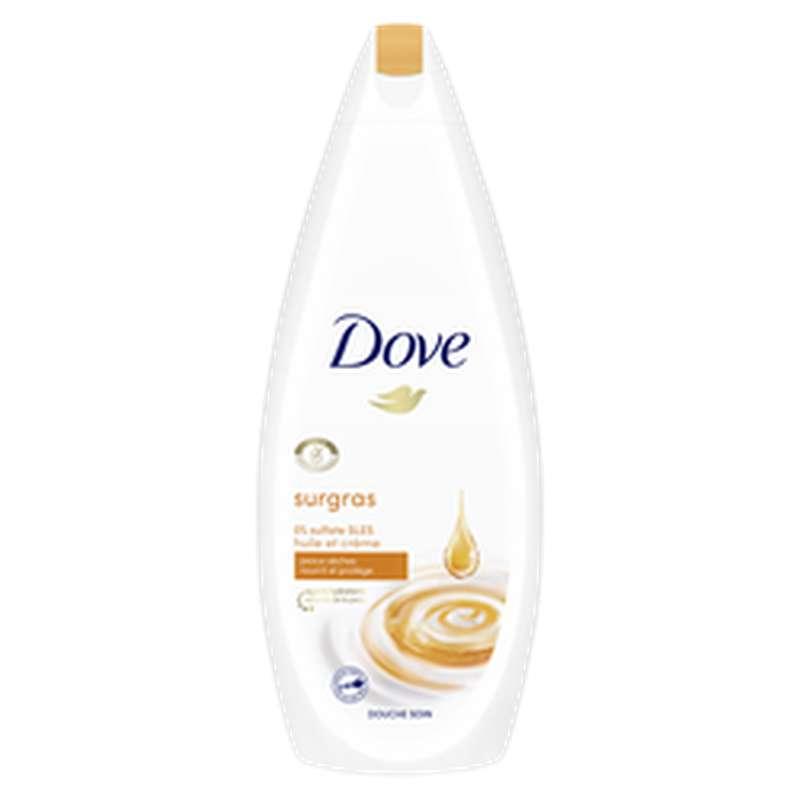 Gel douche huile crème de soin nourrissante, Dove (750 ml)
