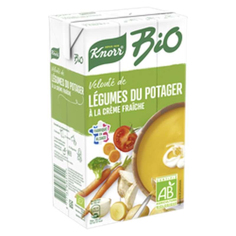 Velouté légumes du potager à la crème fraîche BIO, Knorr (1 L)