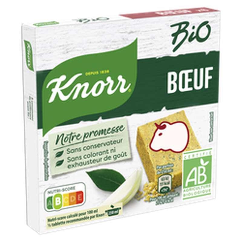 Bouillon de boeuf BIO, Knorr (x 6, 60 g)