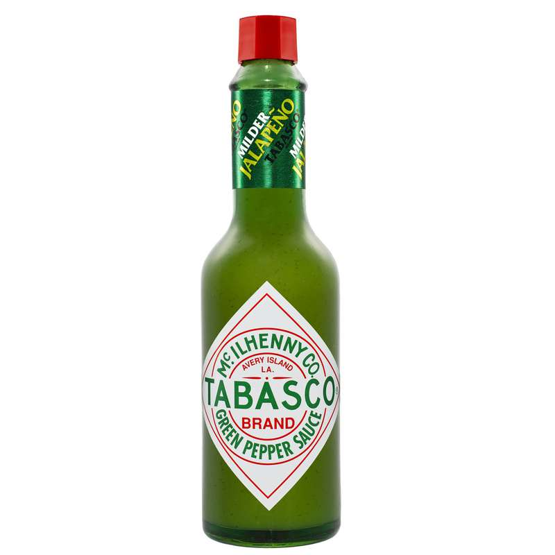 Sauce pimentée jalapeno vert, Tabasco (60 ml)