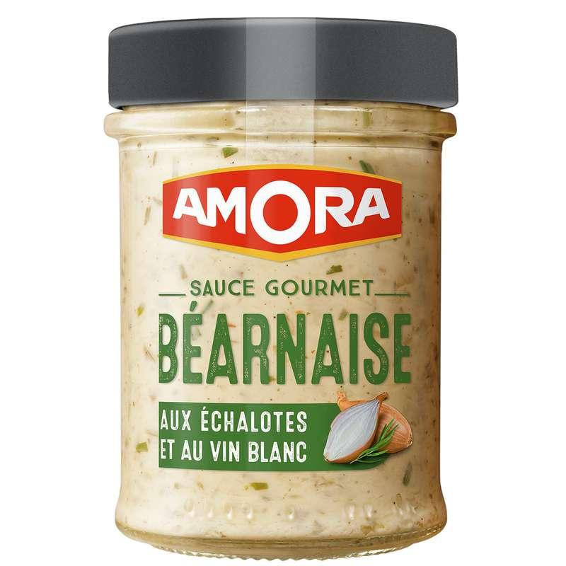 Sauce béarnaise aux échalotes, Amora (184 g)