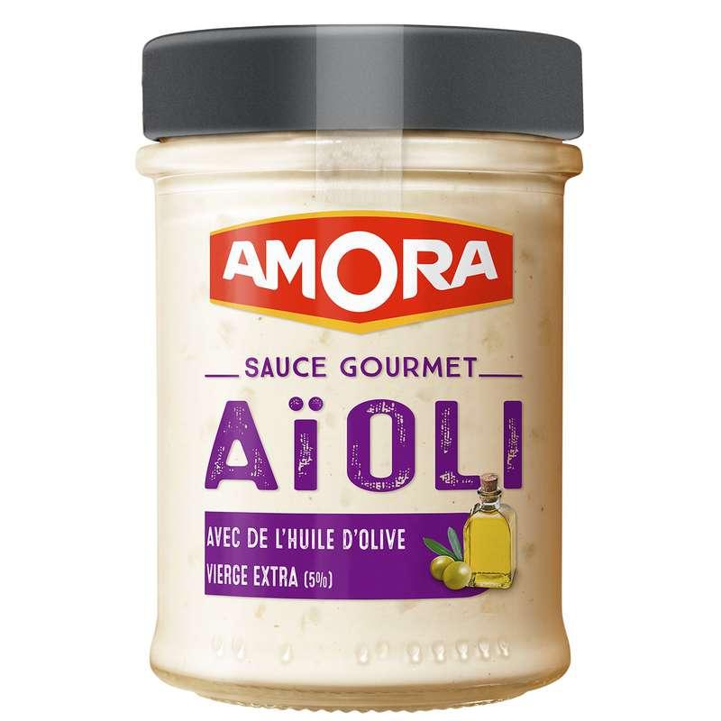 Sauce gourmet Aioli, Amora (182 g)
