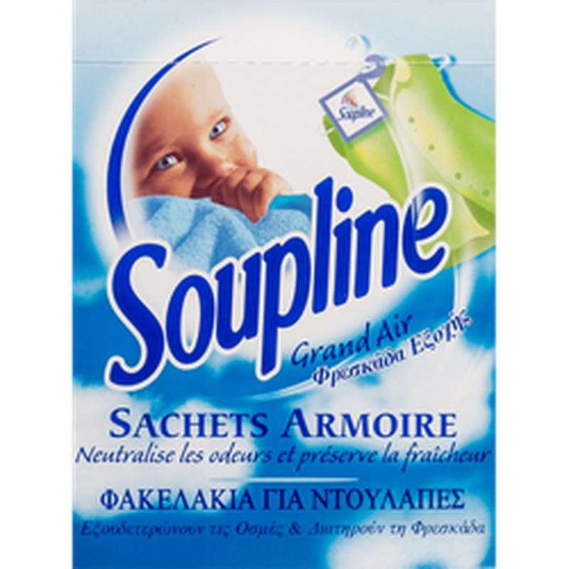 Sachets armoire parfumés So Fresh Grand Air, Soupline (x 3)