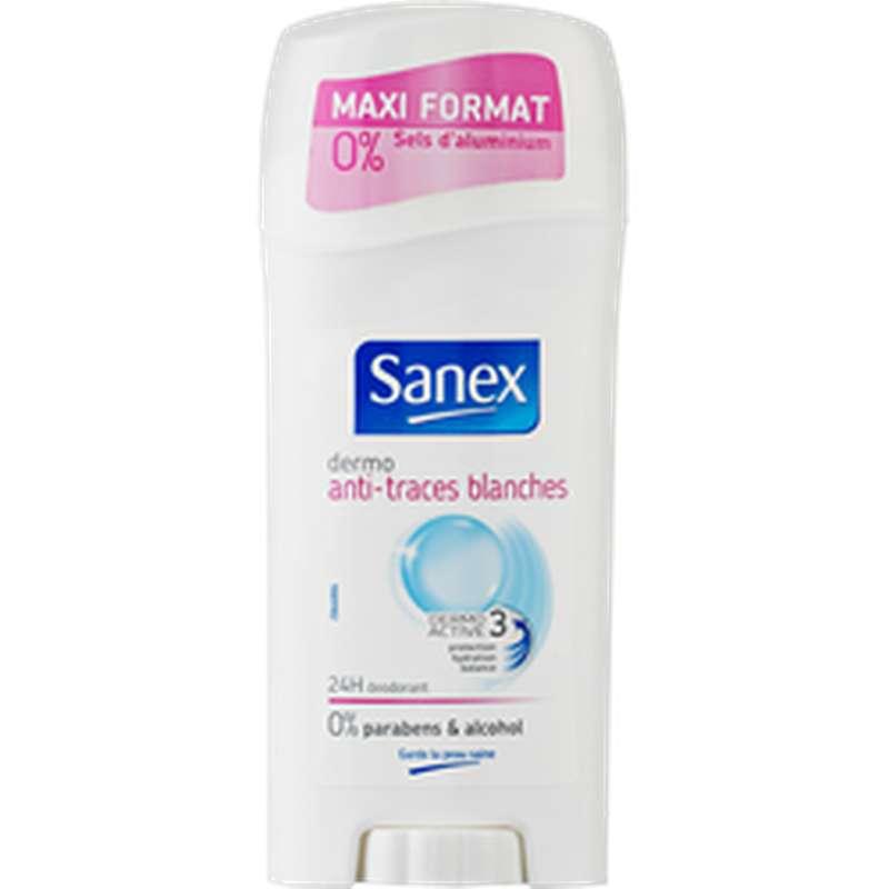 Déodorant anti-traces blanches, Sanex (65 ml)