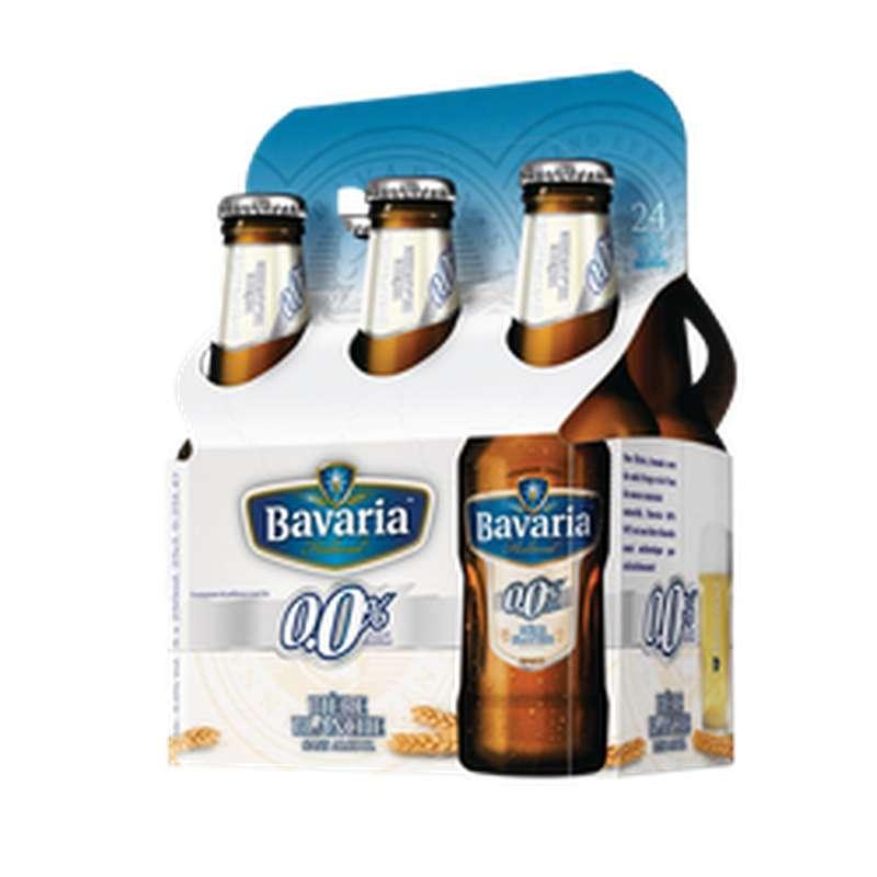 Bière Wit blanche 0°, Bavaria (6 x 25 cl)