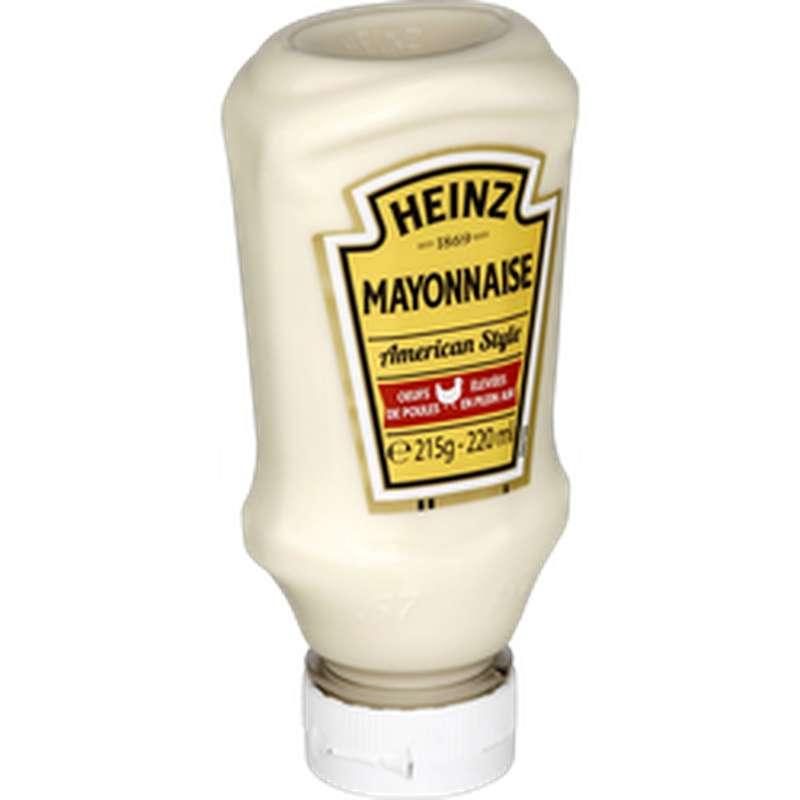 Mayonnaise American style, Heinz (215 g)