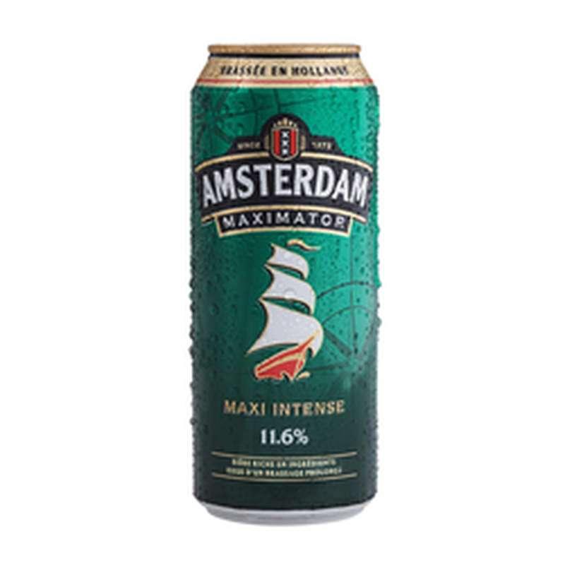 Bière blonde Amsterdam Maximator 11,6° (50 cl)