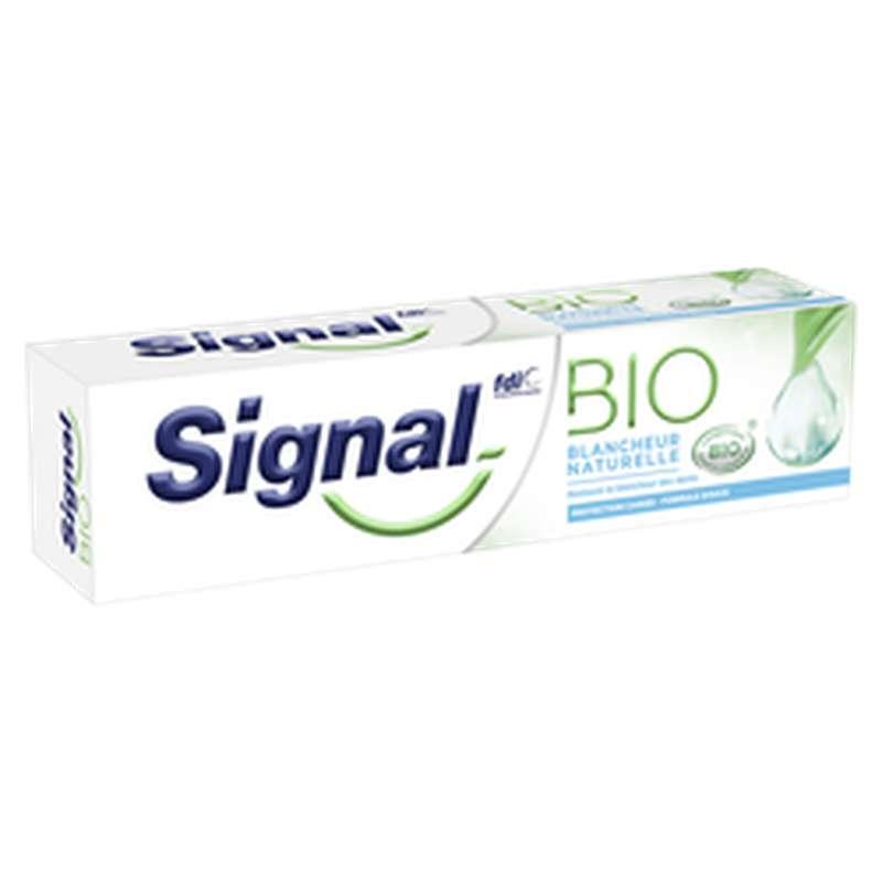 Dentifrice blancheur naturelle BIO, Signal (75 ml)