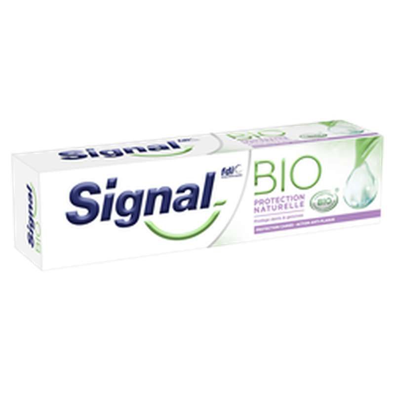 Dentifrice Protection naturelle BIO, Signal (75 ml)