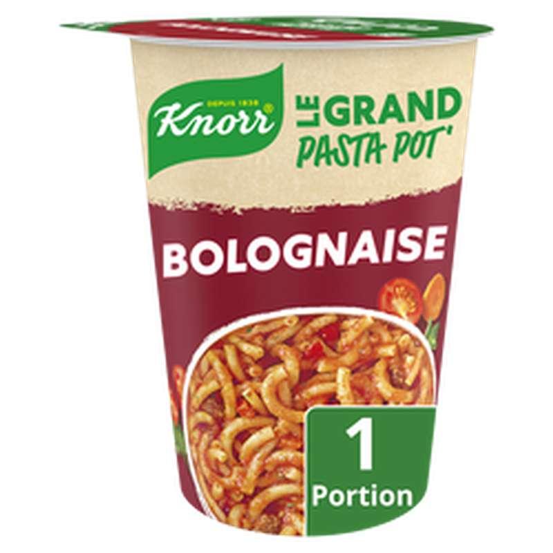 Plat déshydraté pâtes accompagnée sauce bolognaise, Knorr (88 g)