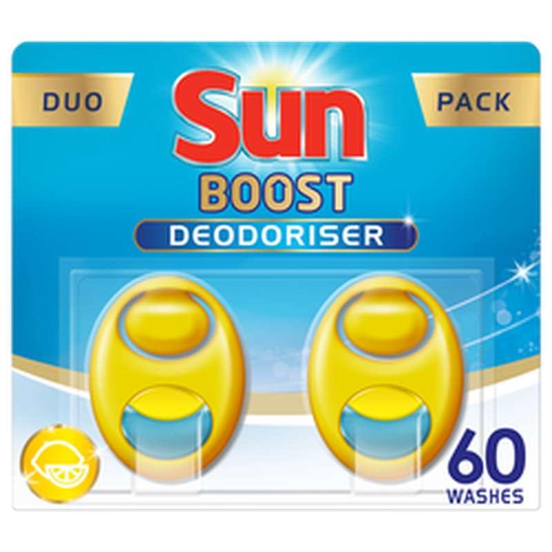 Désodorisant pour lave-vaisselle citron, Sun (x60)