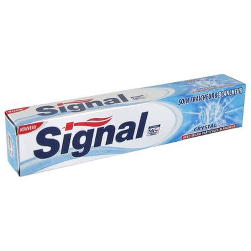 Dentifrice Gel Crystal blancheur, Signal (75 ml)