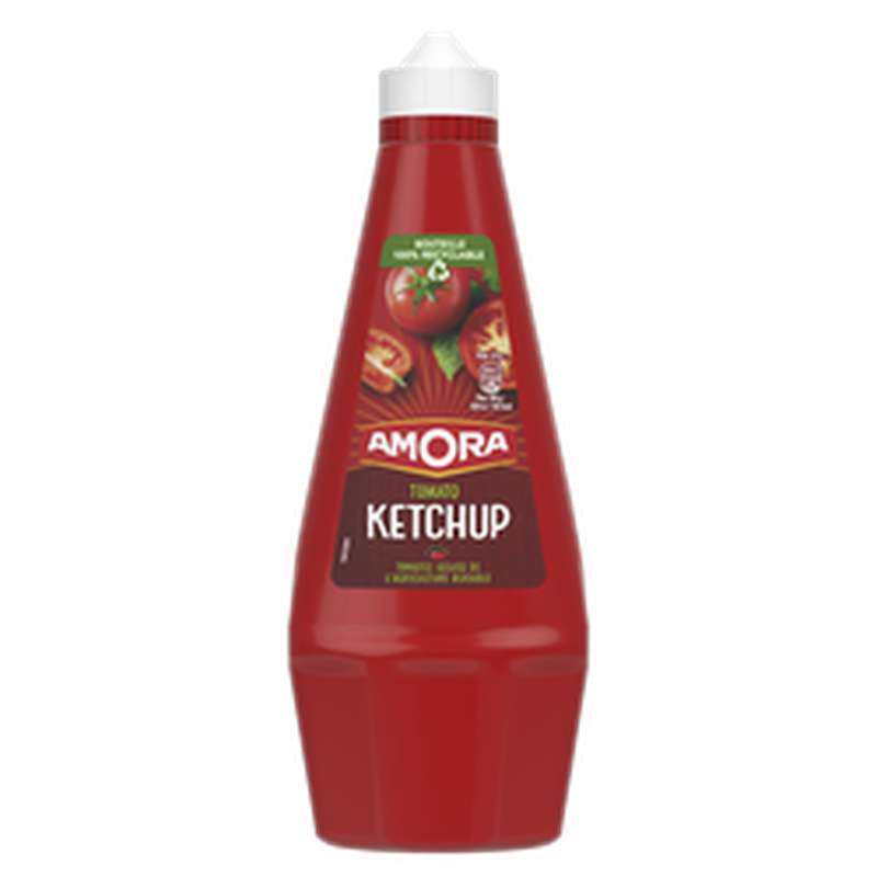 Ketchup nature Top Up Amora, (826 g)