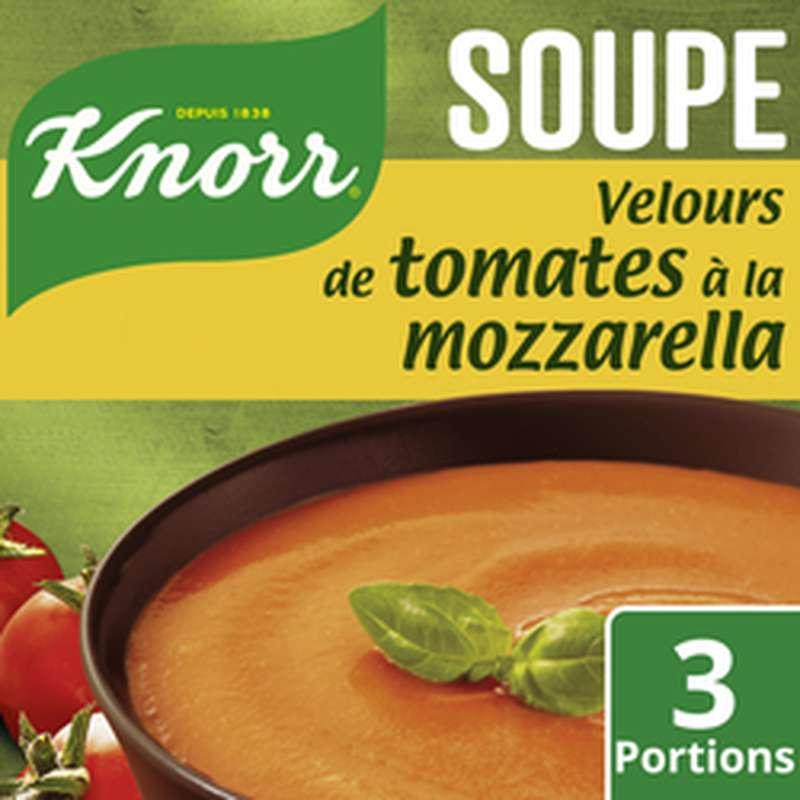 Velours de Tomates Mozarrella déshydratée, Knorr (75 cl)