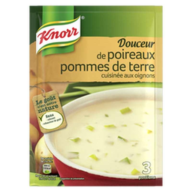 Douceur poireaux pomme de terre pointe crème oignons, Knorr (75 cl)