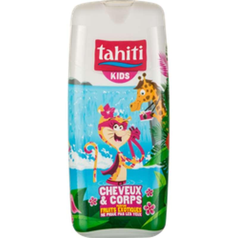 Gel douche cheveux et corps parfum fruits exotiques, Tahiti Kids (300 ml)