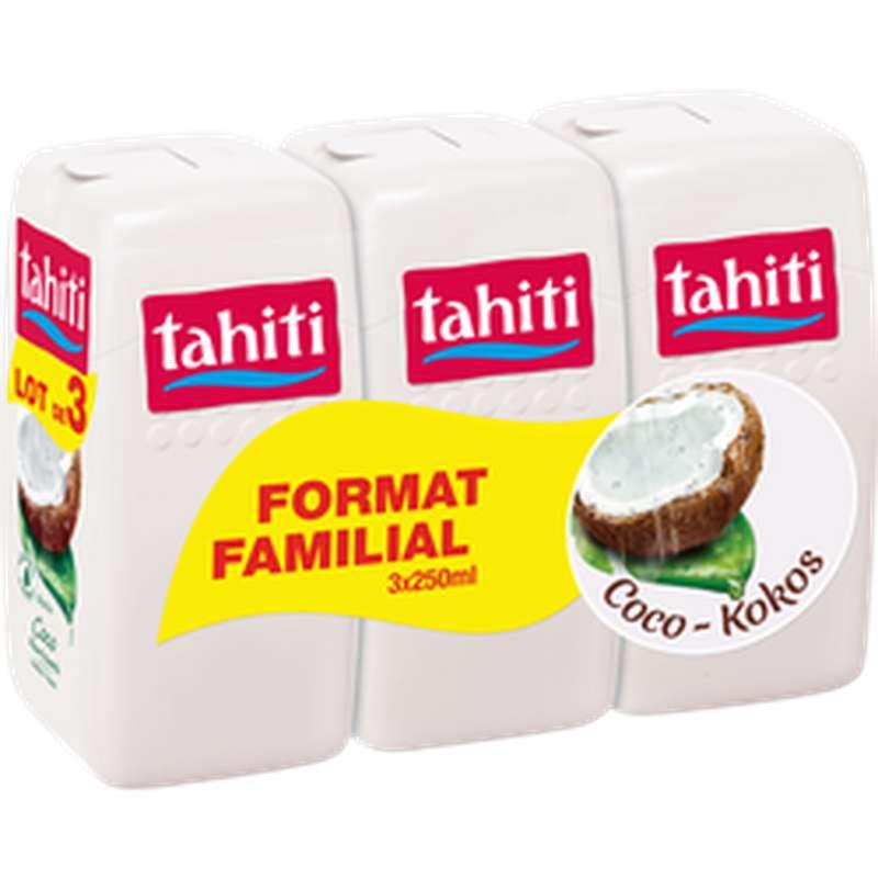 Gel douche coco nourrissante, Tahiti LOT DE 3 (3 x 250 ml)