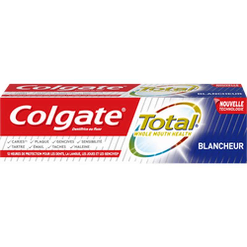 Dentifrice total blancheur, Colgate (75 ml)