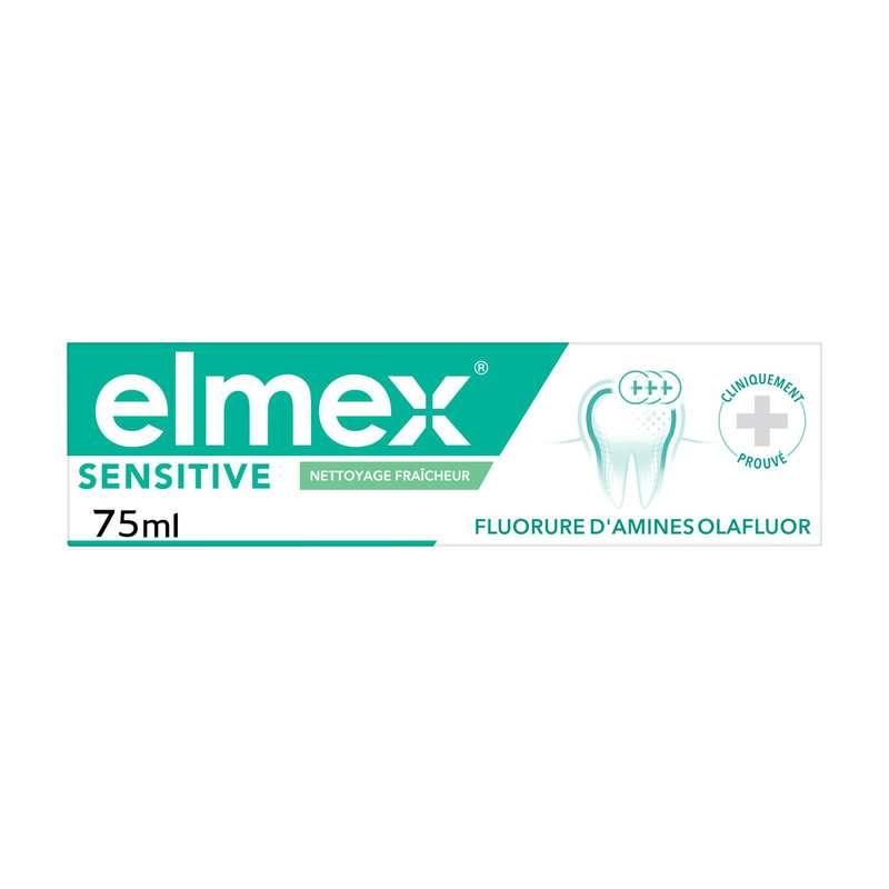 Dentifrice nettoyage fraicheur, Elmex (75 ml)