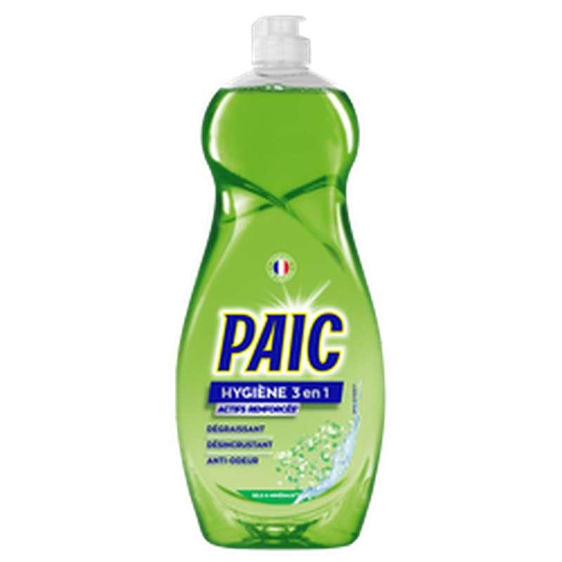 Liquide vaisselle hygiène 3 en 1, Paic (750 ml)