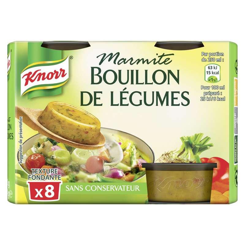 Bouillon de légumes marmite, Knorr (x 8, 224 g)