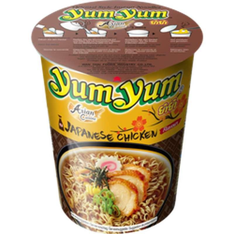 Soupe de nouilles arôme poulet shoyu, Yum Yum, (70 g)