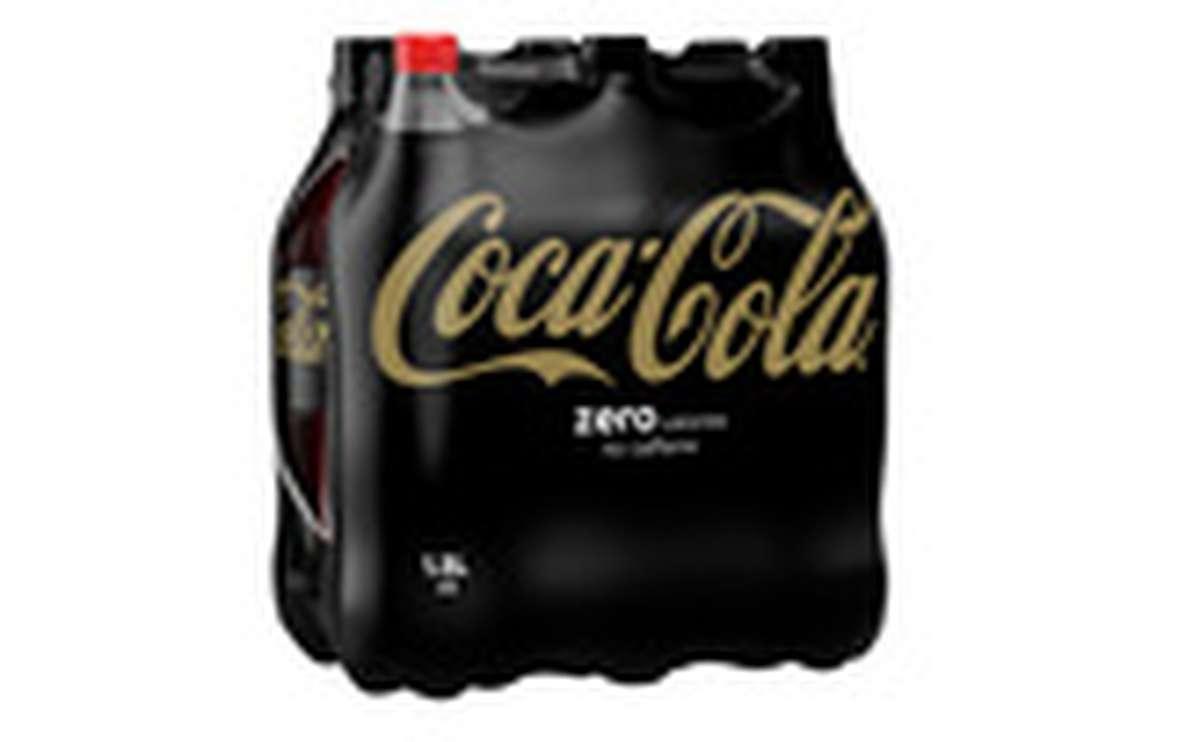 Pack de Coca-Cola Zéro sans caféine (6 x 1,5 L)