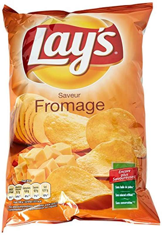 Chips saveur fromage, Lay's (130 g)