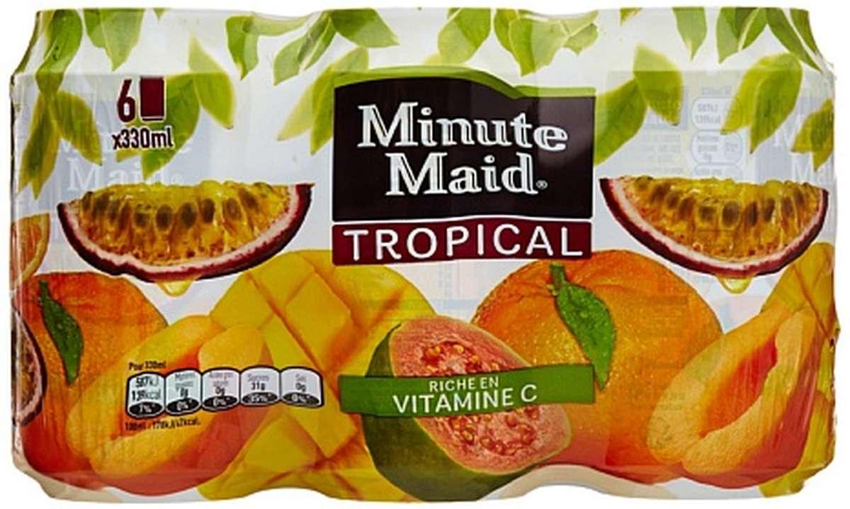 Pack de Minute Maid Tropical (6 x 33 cl)
