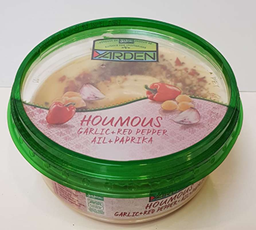 Houmous ail et paprika, Yarden (250 g)