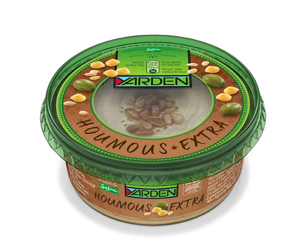 Houmous extra pignons et huile d'olive, Yarden (250 g)