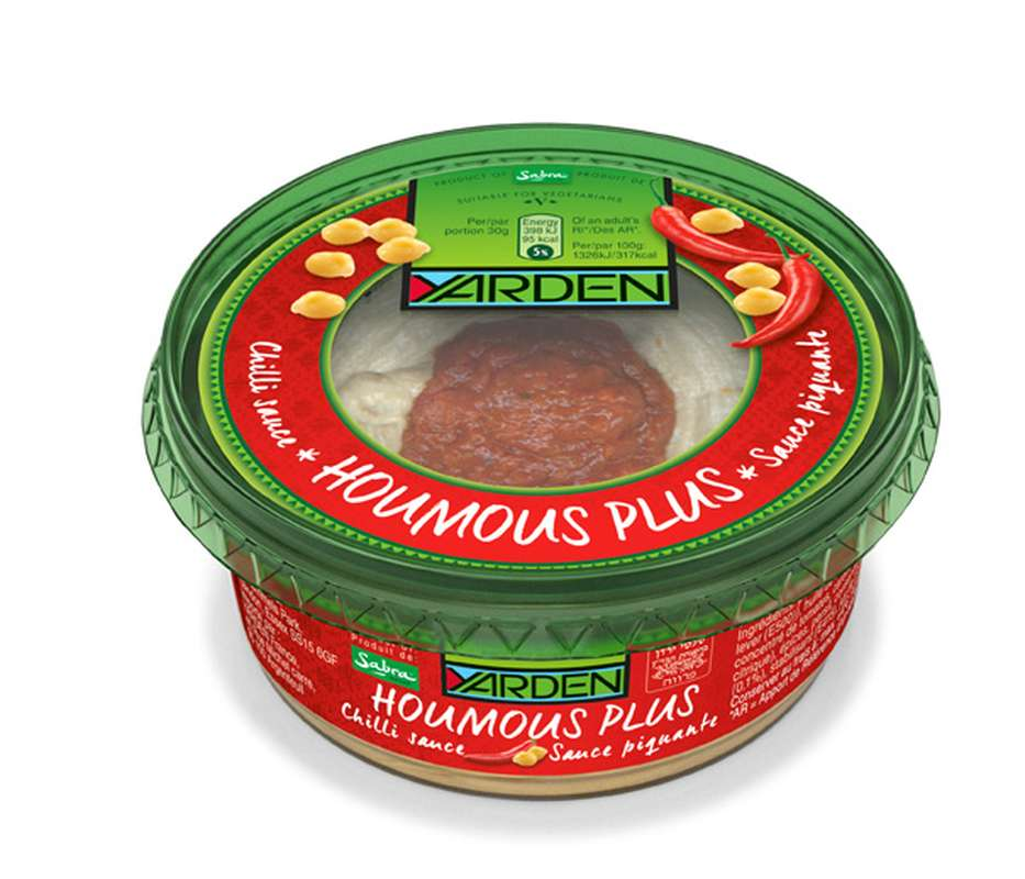 Houmous plus sauce piquante, Yarden (250 g)