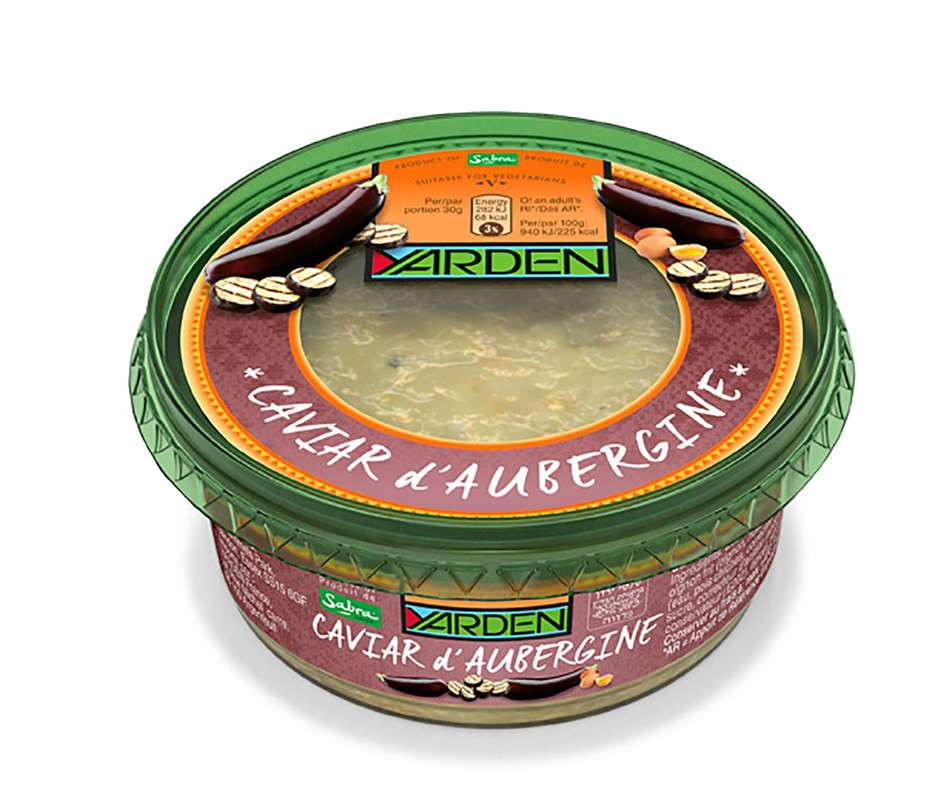 Caviar d'aubergines, Yarden (250 g)