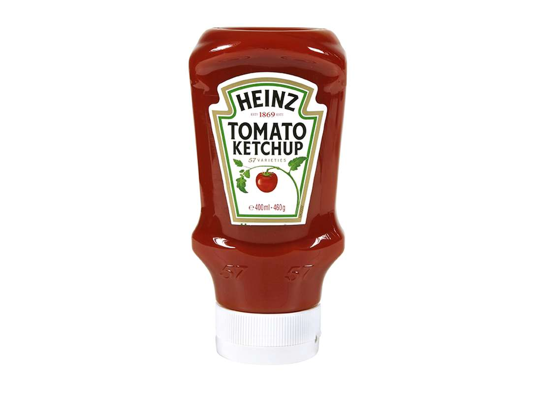 Ketchup top down en flacon, Heinz (460 g)