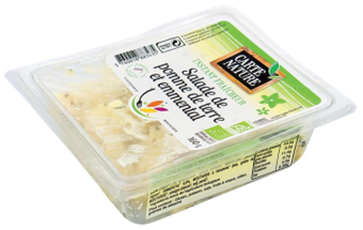 Salade de pomme de terre et emmental BIO, Carte Nature (160 g)